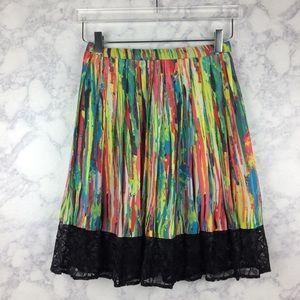 💕 PRABAL GARUNG for target multicolor skirt